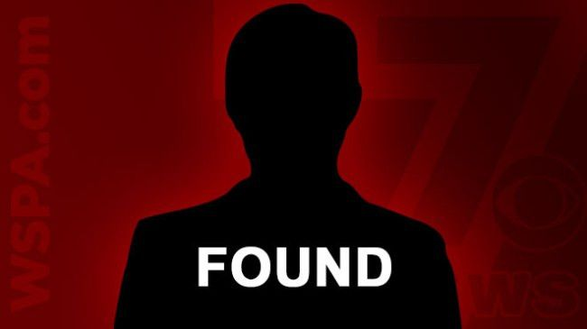 Missing person FOUND in Greer