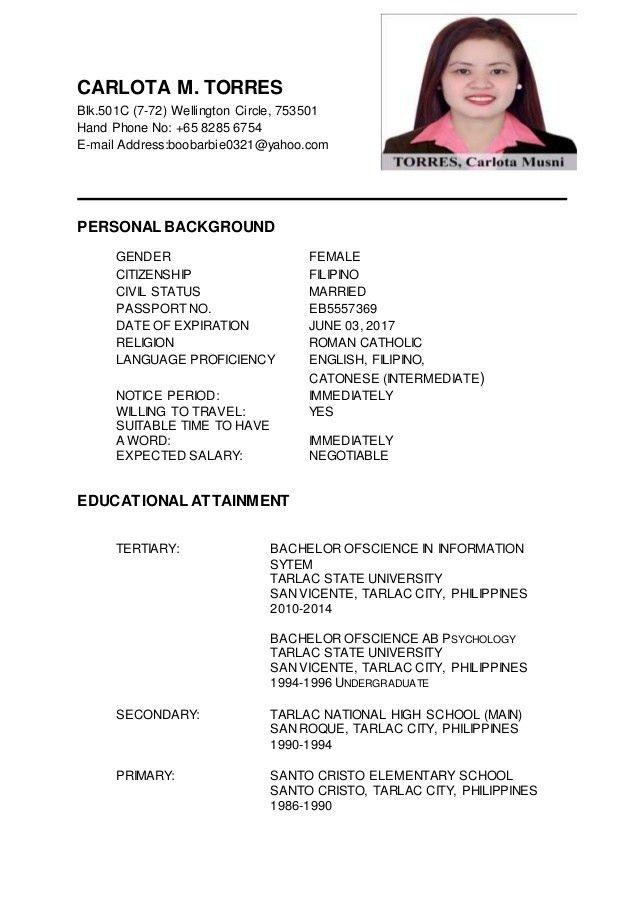 Download Updated Resume   haadyaooverbayresort.com