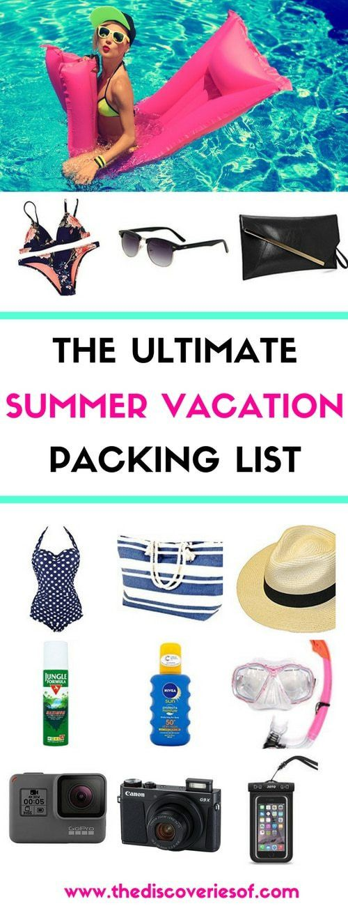 The Ultimate Tropical Vacation Packing List – The Discoveries Of