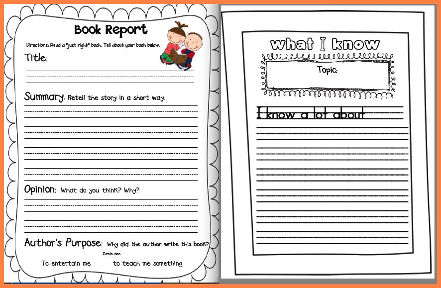 12+ free book report templates | Invoice Example 2017