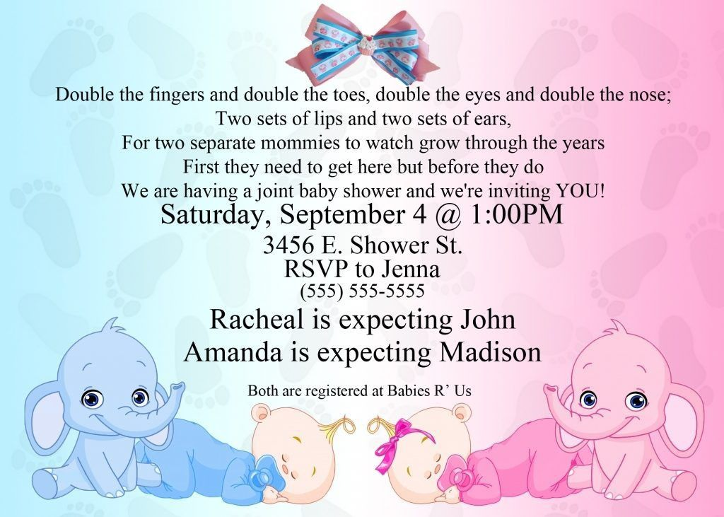 Free Baby Shower Invitation Templates For Word Free Ba Shower ...