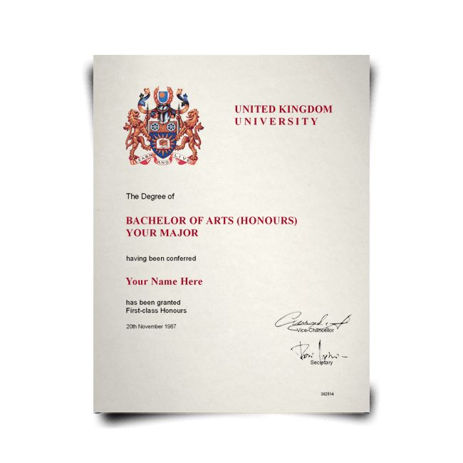 Buy Fake Diplomas from United Kingdom Colleges and Universities ...