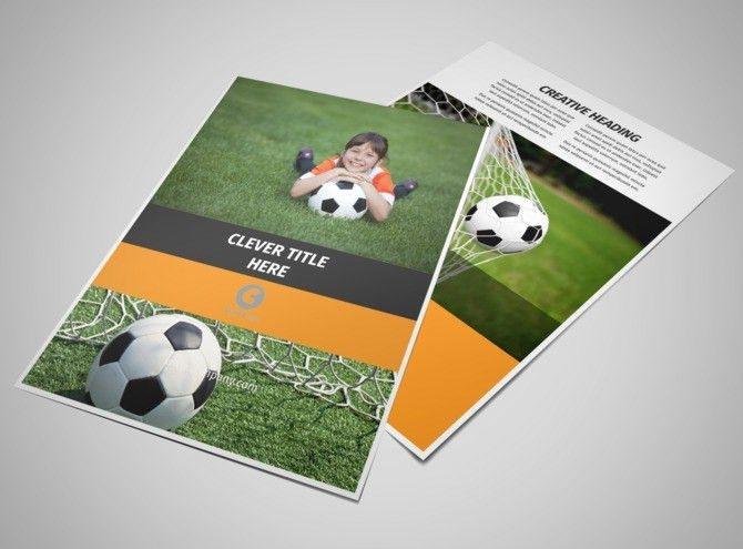 Weekend Soccer Camp Flyer Template | MyCreativeShop