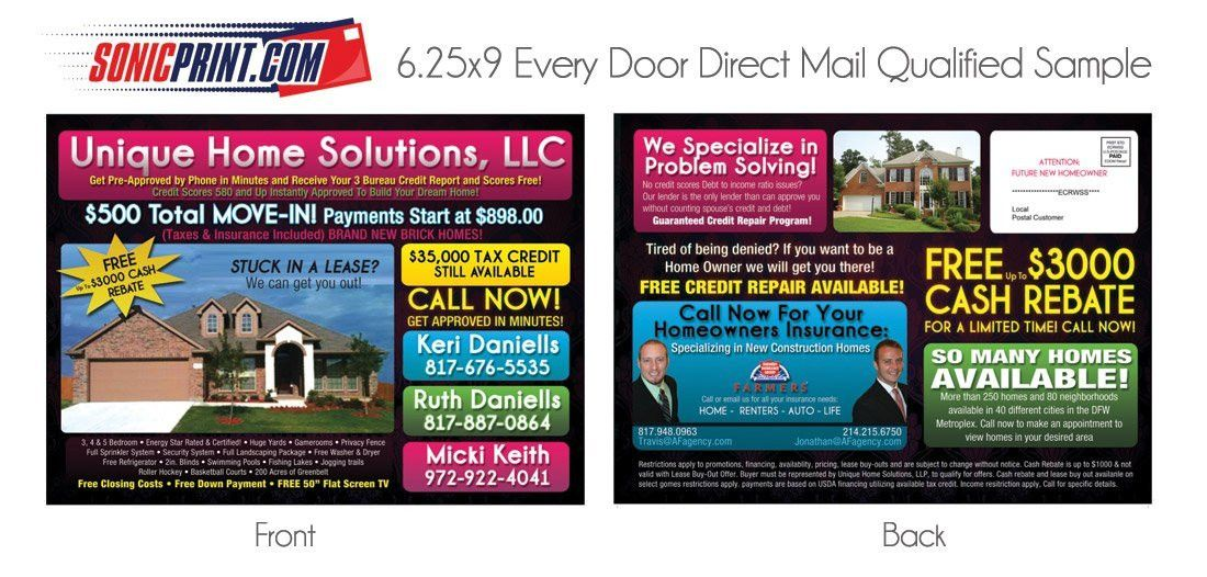 Every Door Direct Mail Template | Template Design