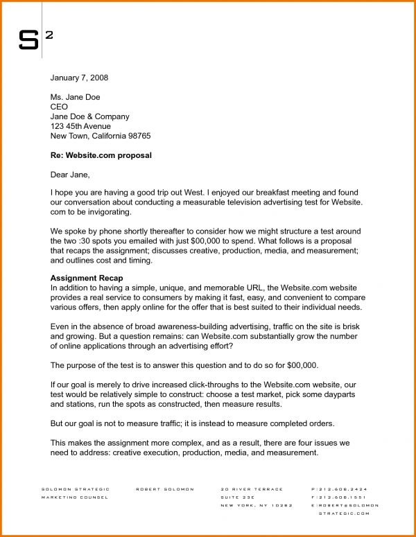 Proposal Letter Template.2617169.png | Scope Of Work Template