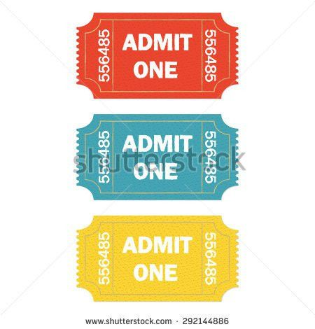 Ticket Stub Stock Images, Royalty-Free Images & Vectors | Shutterstock