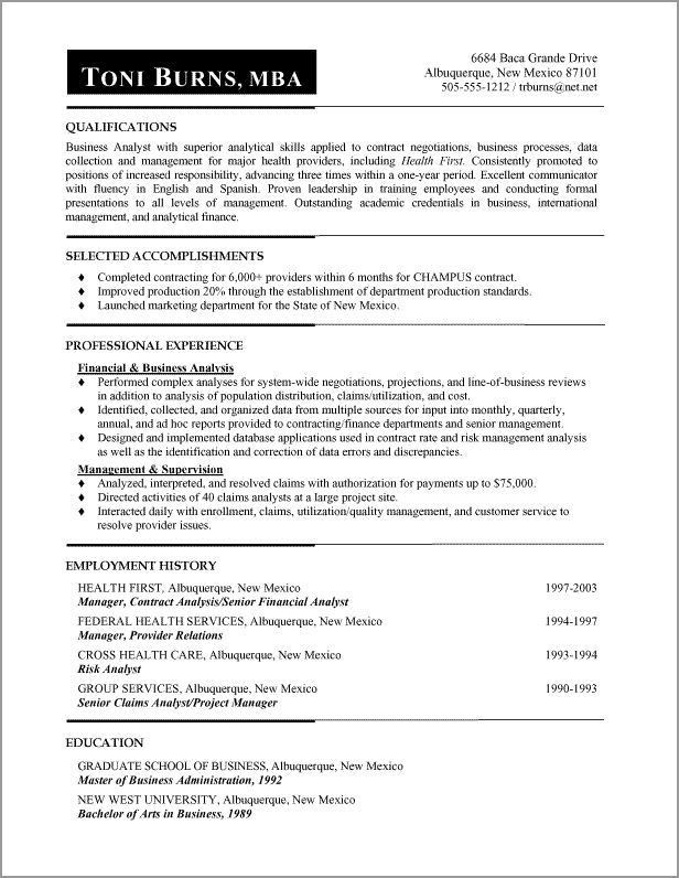 14 best Administrative Functional Resume images on Pinterest ...