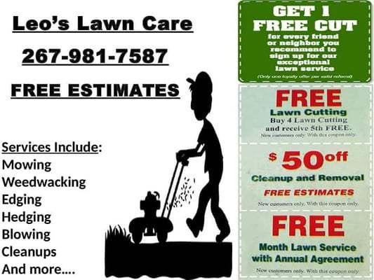Leo's Lawn Care - Landscaping - 9415 Lansford St, Philadelphia, PA ...