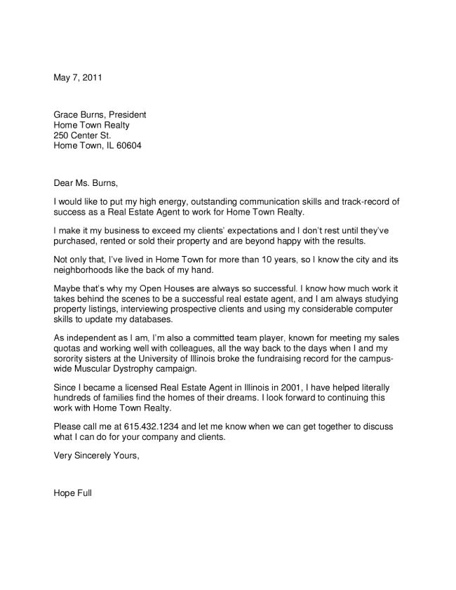 real estate assistant cover letter estate assistant resume cover ...