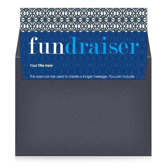 Fundraiser Blue, Invitations & Cards on Pingg.com