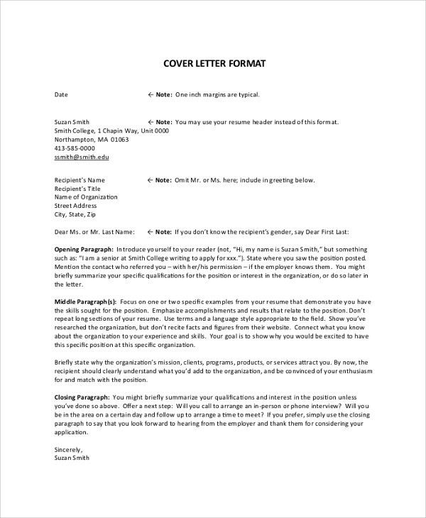 Ideas Collection Cover Letter Don T Know Recipient S Name For ...