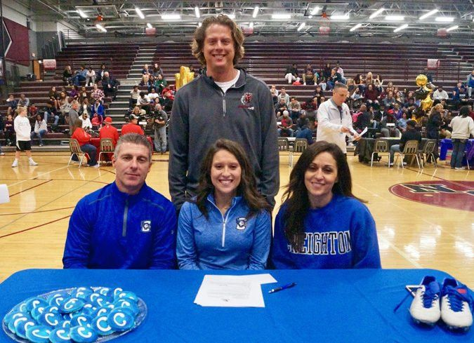 National Letter of Intent Signing Ceremony: Keelie Fothergill ...
