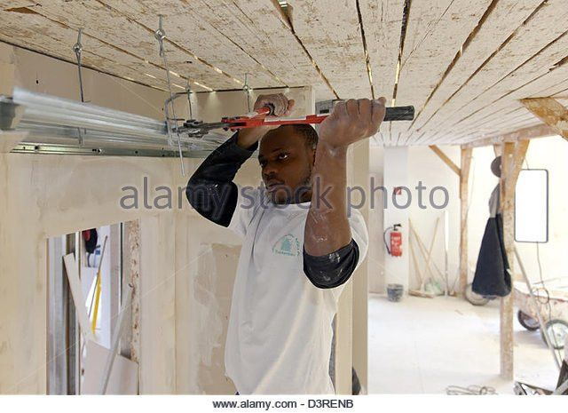 Drywall Installer Stock Photos & Drywall Installer Stock Images ...