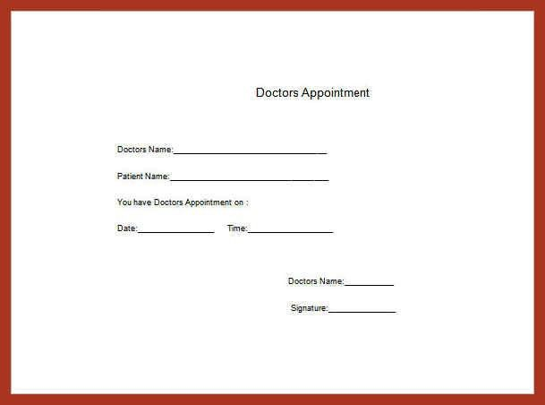 dr note template free | job proposal example