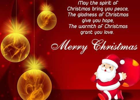 Merry Christmas Card Messages – Happy Holidays!