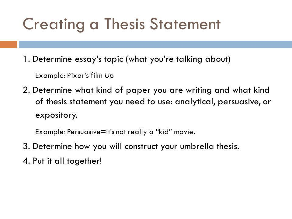 Bellwork Thesis Statement… Write your thesis statement for your ...
