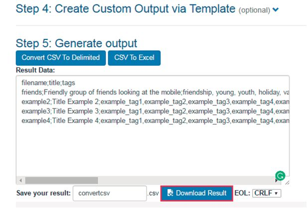 How to create a .csv file – Freepik Support