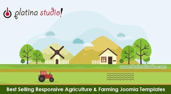 Free & Premium Responsive Agriculture Joomla Templates | Joomla ...
