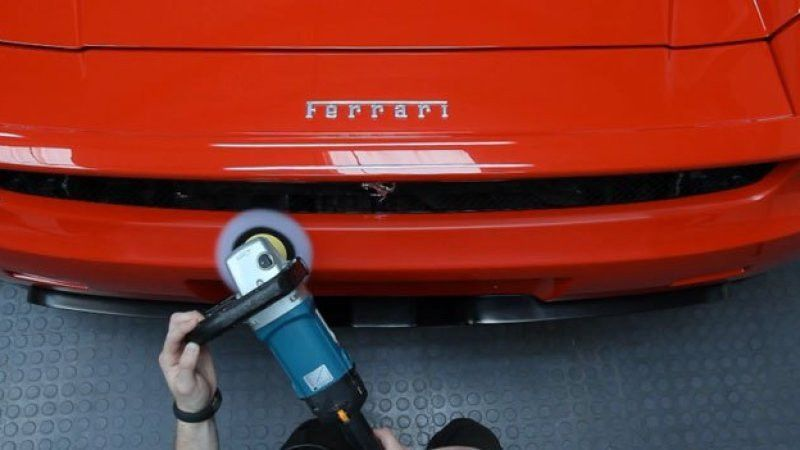 High-end video of high-end detail job on high-end Ferrari - Autoblog