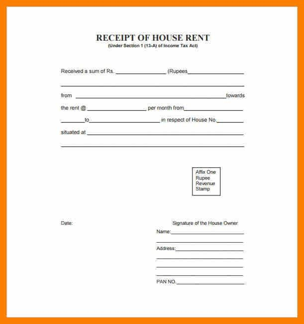 4+ house rent receipt format pdf | hostess resume