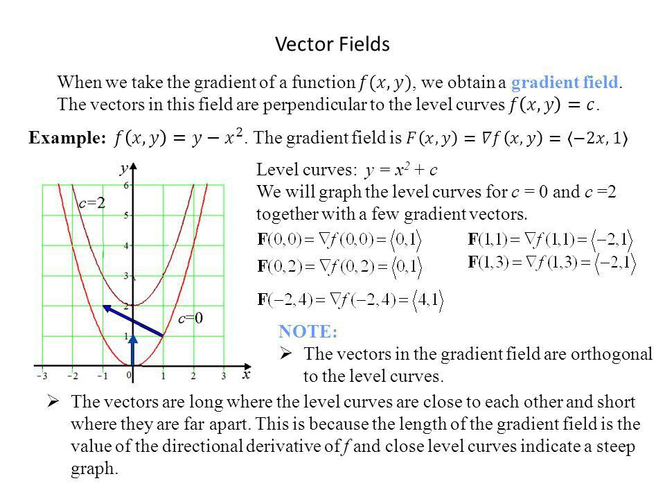 Vector Fields. - ppt video online download