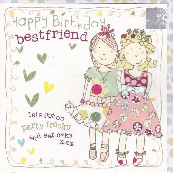 Designs : Best Friend Birthday Cards