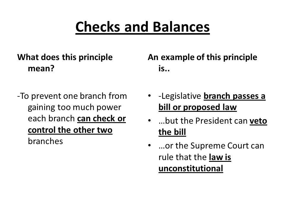 Lesson 2: Principles of the Constitution - ppt download