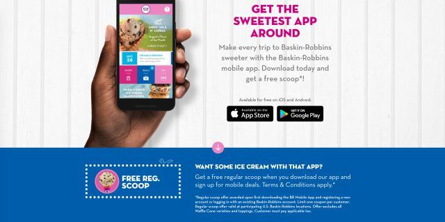 Here's how you can earn a free scoop of Baskin-Robbins' ice cream ...