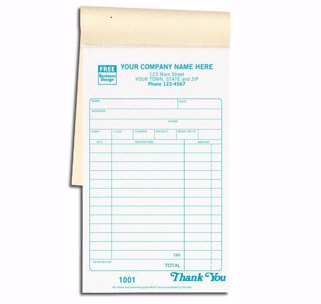 Sales order booklet | Sales Invoice Books & Slips | Pinterest