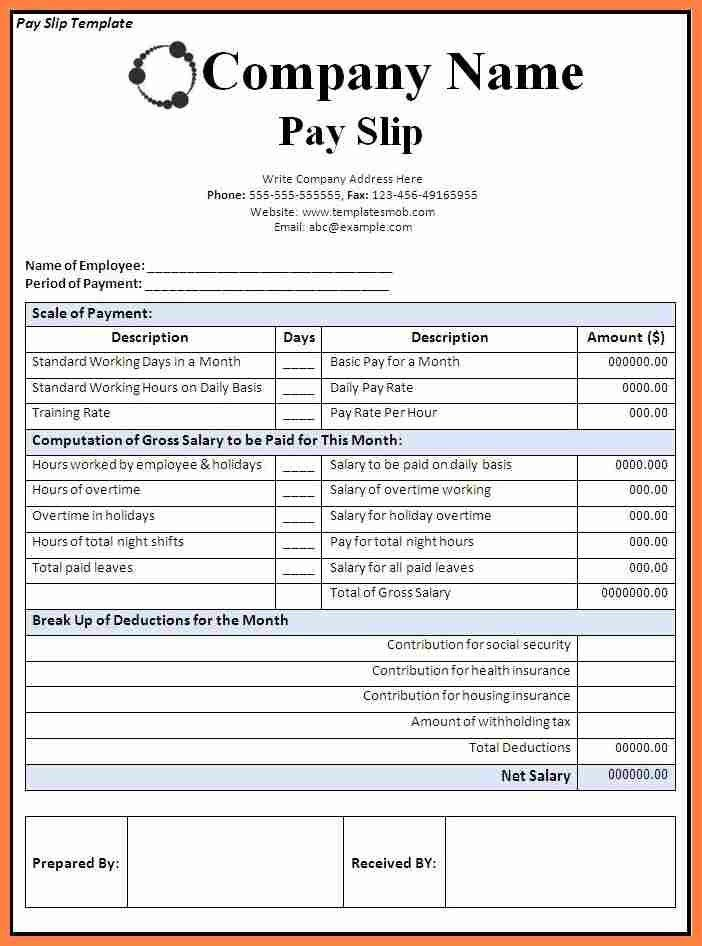 Payslip Formats Payslip Software And Payslip Formats Payslip – Sample Payslip Format Doc