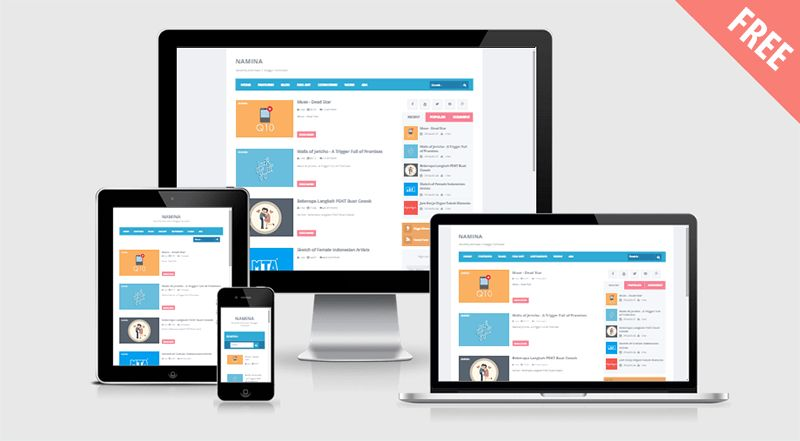 9 Responsive Blogger Templates Download Free