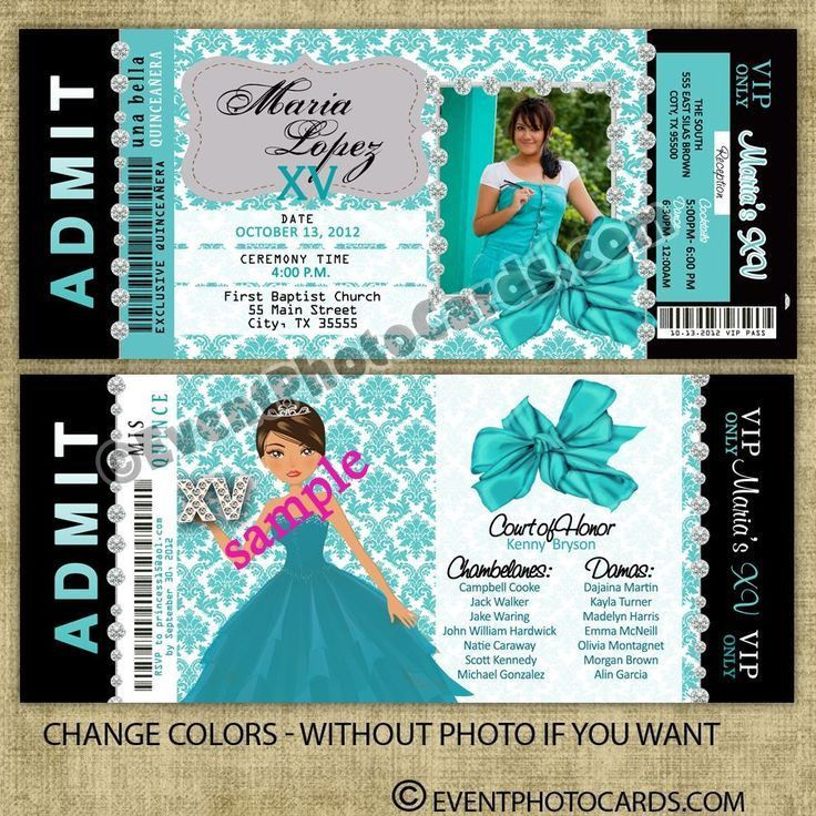 73 best Quinceanera Invitations & Styles images on Pinterest ...