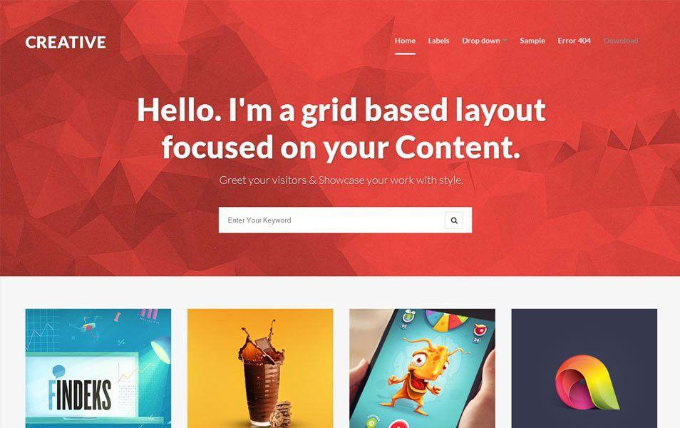 45+ Free Blogger Templates 2015 | Graphic Design Inspiration