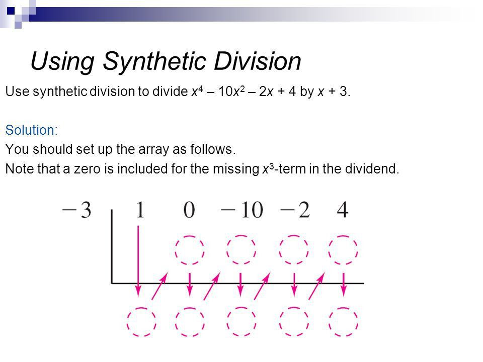 Station 2: Polynomial Synthetic Division - Lessons - Tes Teach