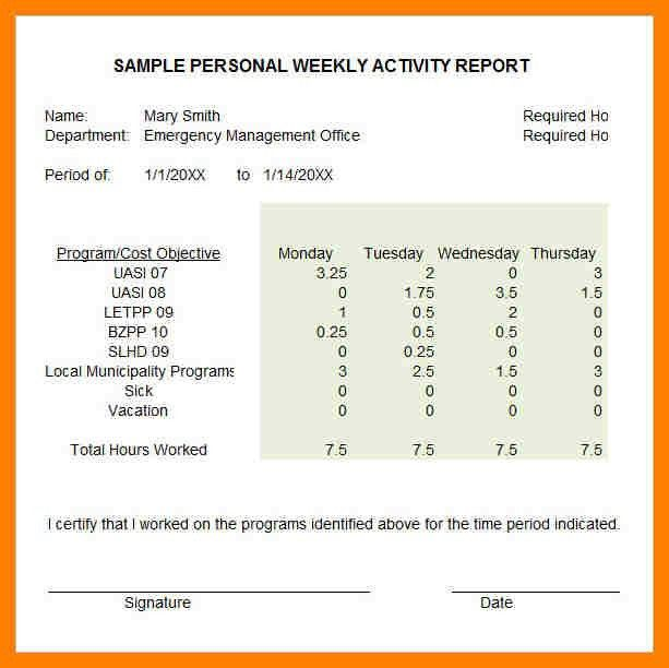 Sample Weekly Status Report. Sample Status Reports Sample Weekly ...
