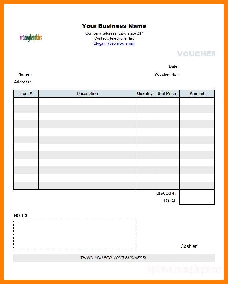 6+ cash payment voucher format in word   fancy-resume