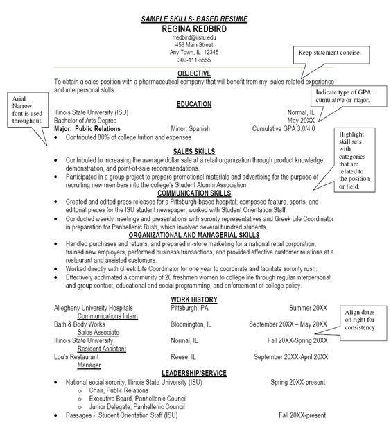 Download Skill Based Resume | haadyaooverbayresort.com