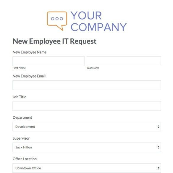 HR Forms and Templates | Streamline Admin Tasks | Formstack