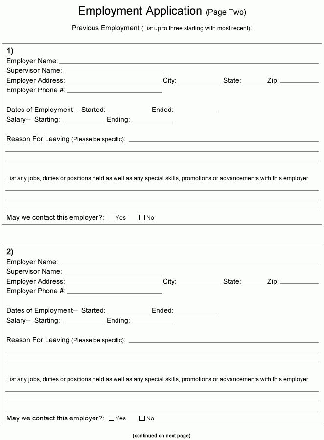Job Application Form | | jvwithmenow.com