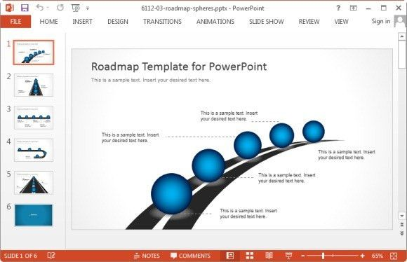 Free Roadmap Templates Product Roadmap Powerpoint Template – Free Roadmap Templates