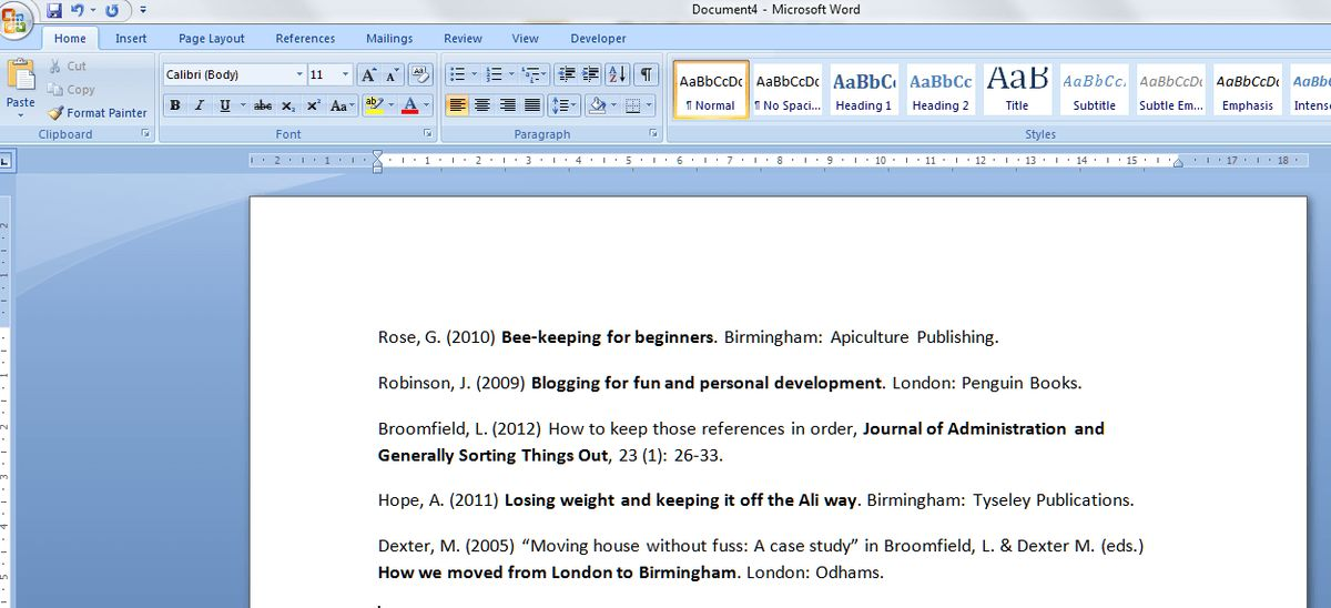 How to put text in alphabetical order in Word | LibroEditing ...