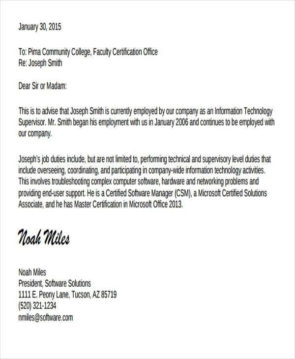 6+ Experience Letter Templates - 6+ Free Sample, Example Format ...