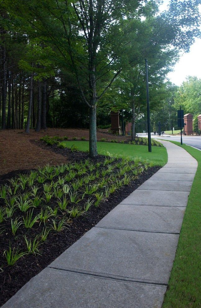 Personal Touch Lawn Care Atlanta : Neighborhood Entrance Renovation