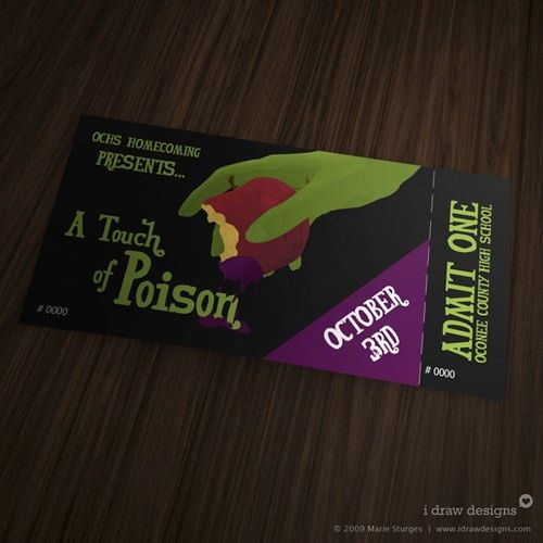 Event Ticket Ideas] 32 Excellent Ticket Design Samples Uprinting ...