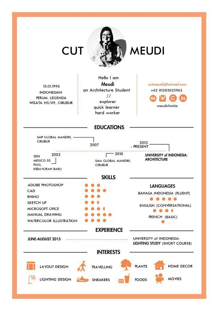 Best 20+ Cv template student ideas on Pinterest | Cv resume sample ...