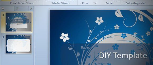 How to make a PowerPoint Template in MS PowerPoint 2010 (DIY)