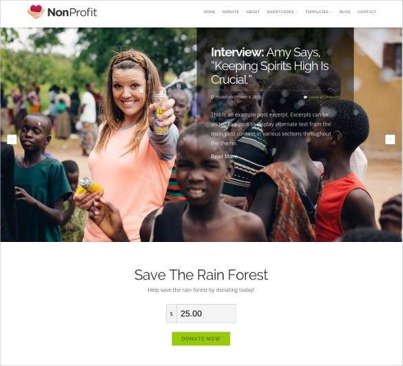 35+ Non Profit Website Themes & Templates | Free & Premium Templates