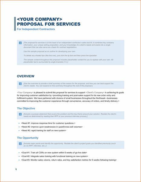8+ microsoft word proposal template   Procedure Template Sample
