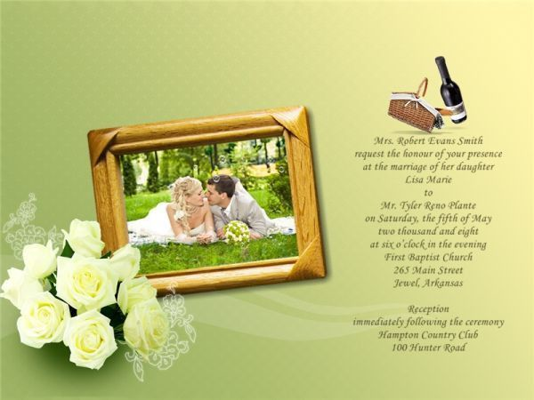 Wedding Invitation Card Add-on Templates - Download Free