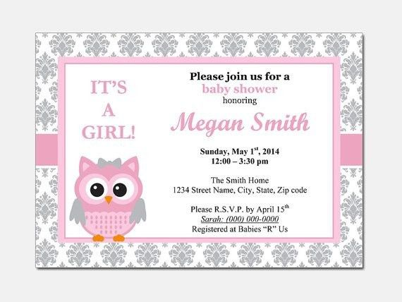 Top Collection of Baby Shower Invitation Template Word for your ...